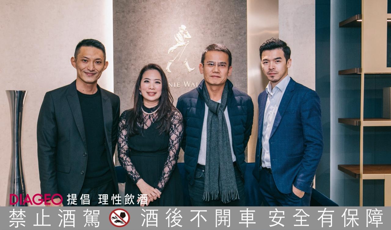李冠廷(左)、周育瑾、曾政寧、陳克濱