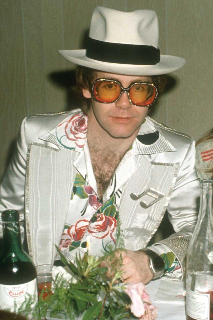 英國國寶級歌手Elton John 所著用的Pulsar P3錶款