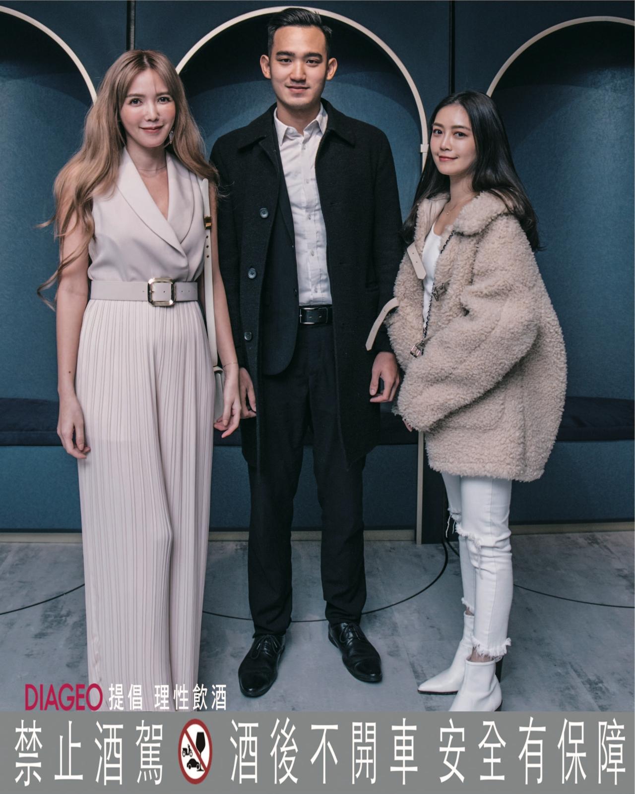 許采晴(左)、楊非、Noli