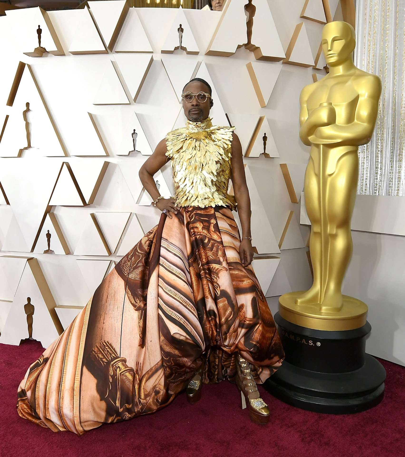 Billy Porter Giles Deacon Couture