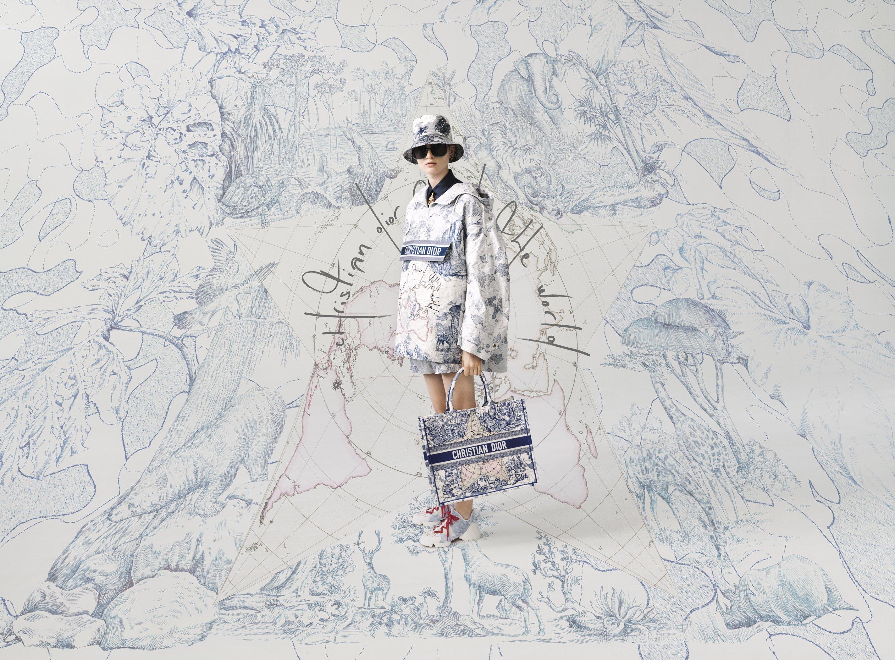 迷人的無可救藥! Dior 2020早秋玩轉圖騰, 一起遨遊世界去