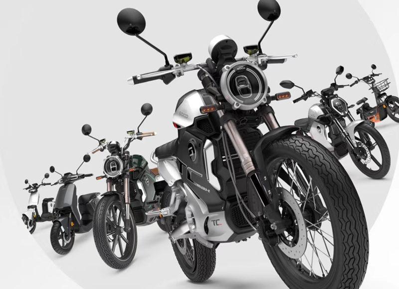 Super SOCO TC 打造全新電動車的美感與性能