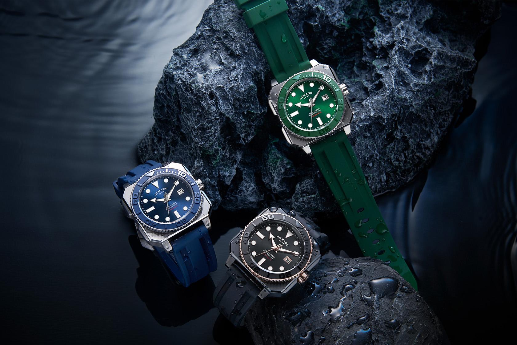 ROMAGO登台!強勁展現瑞士製錶技術的獨特風格