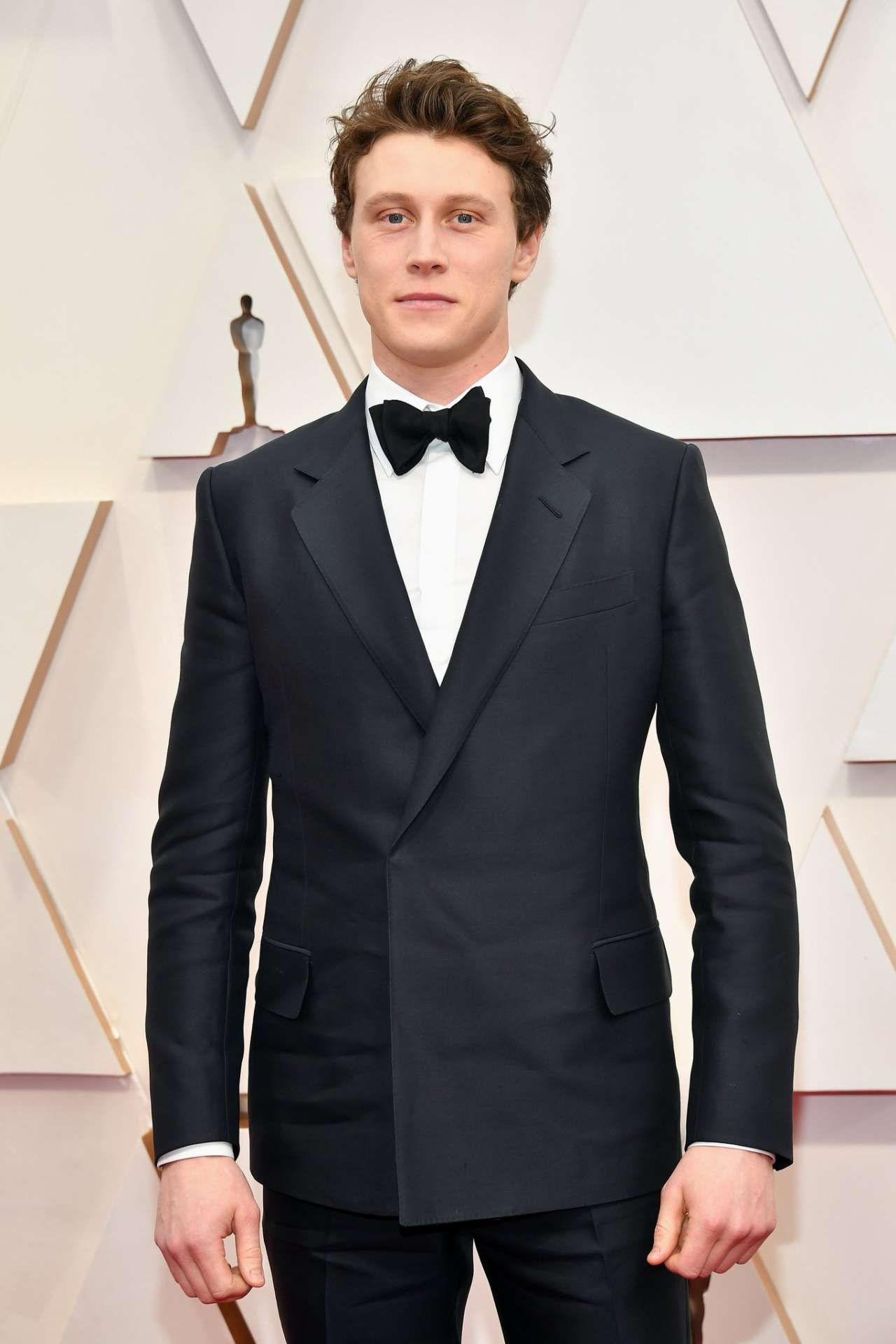 George MacKay Wearing Dunhill