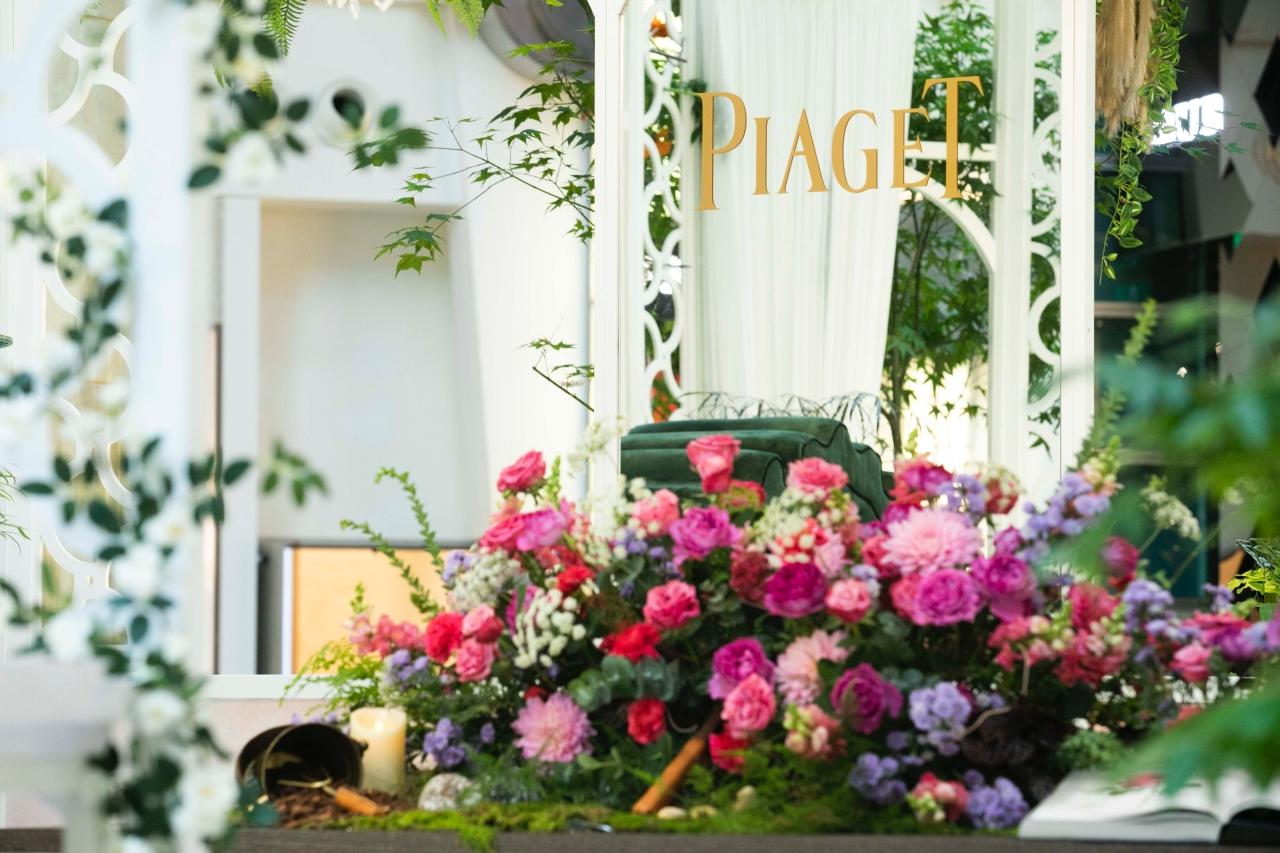 夜藍優雅Limelight Gala 伯爵PIAGET於台北101展開玫瑰盛宴