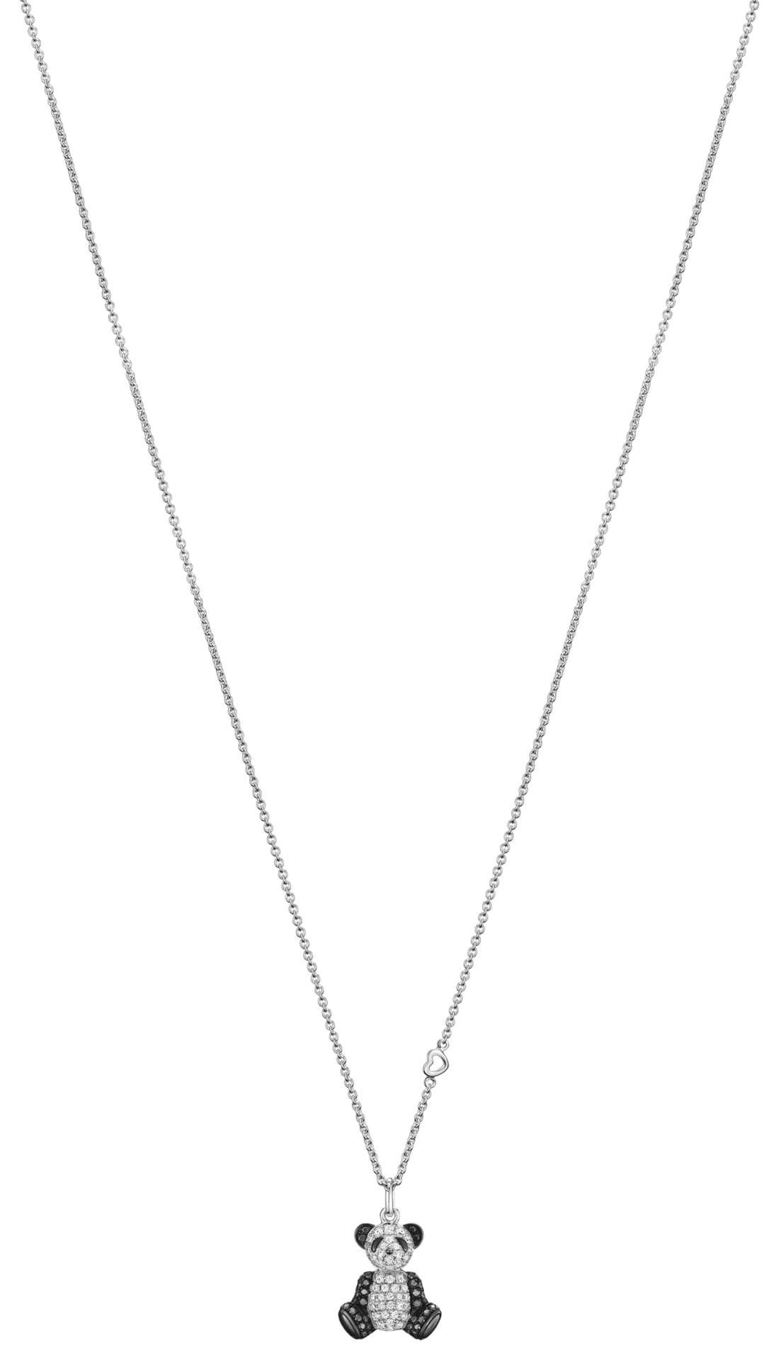 Qeelin新品_Petite Classic Bo Bo 18K 白金鑽石及黑鑽石項鍊 NTD98,800 (BB-040-SNL-WGD)_batch
