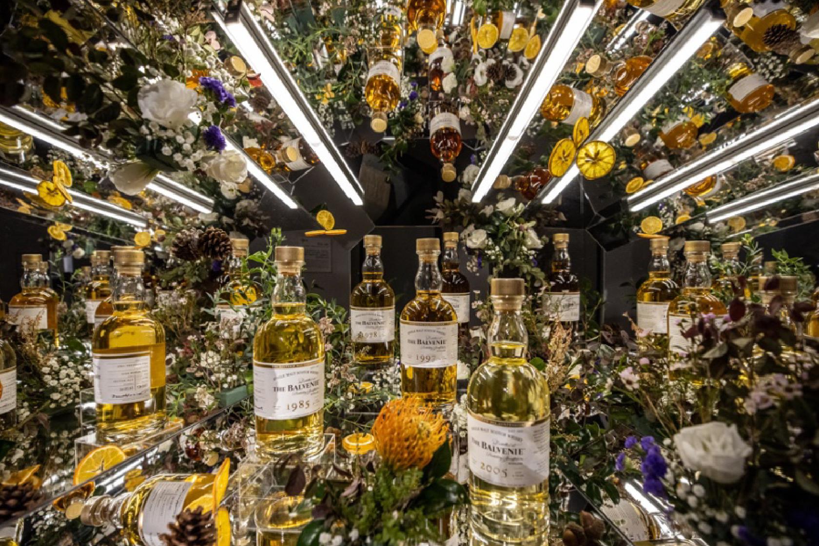 WE CHEERS|首席調酒師系列,百富展出25支珍稀原酒