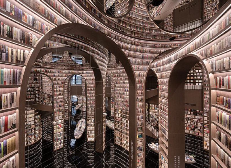 書香與設計|中國都江堰市的壯闊新書店