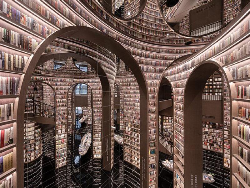 書香與設計 中國都江堰市的壯闊新書店