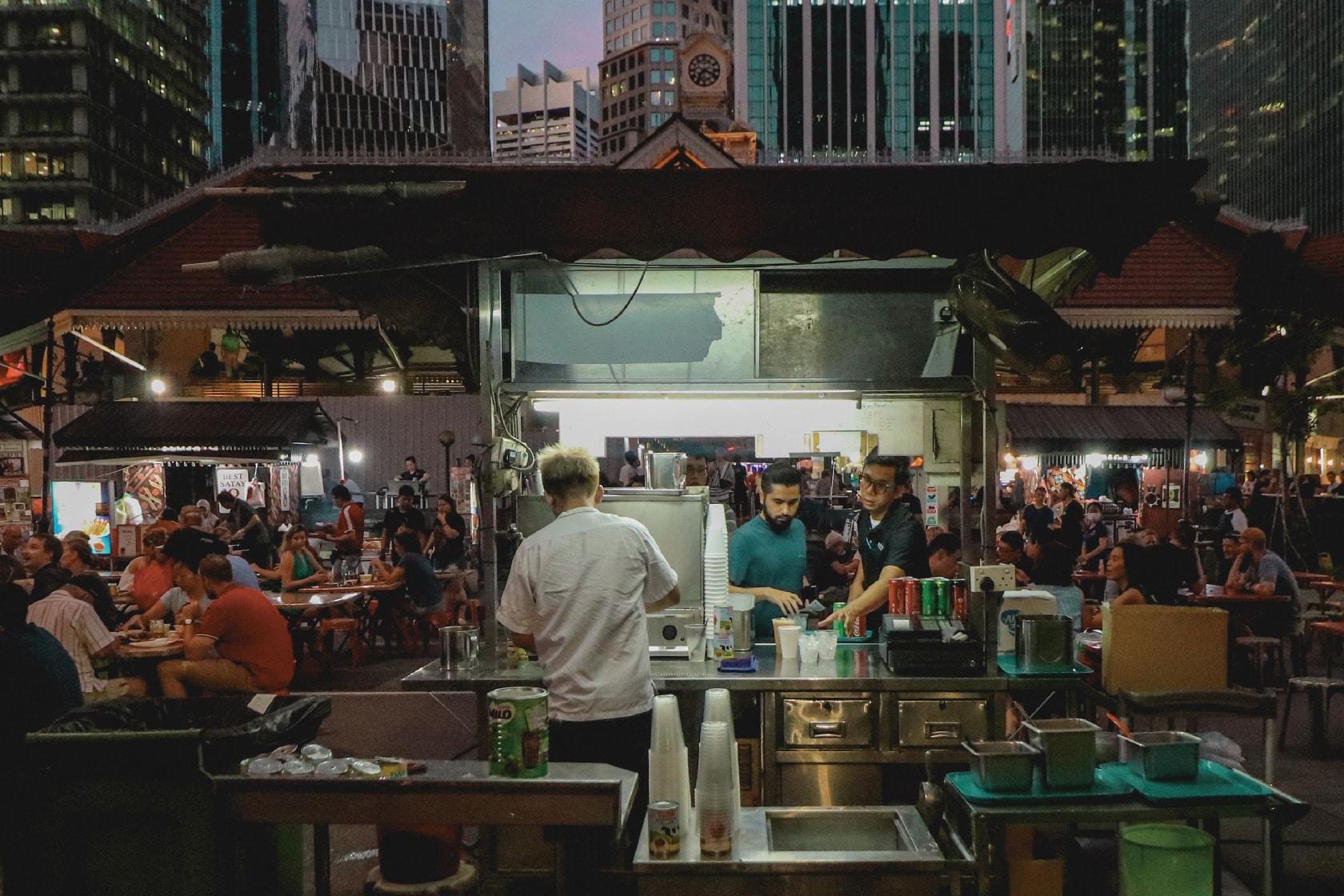 花園城市裡的渣滓|新加坡對抗剩食之路