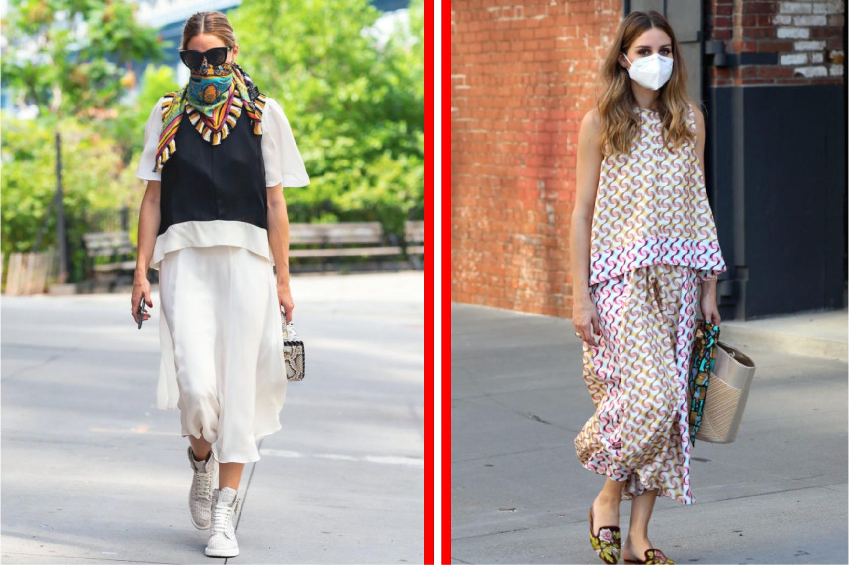 紐約女王|Olivia Palermo 的八種口罩穿搭術