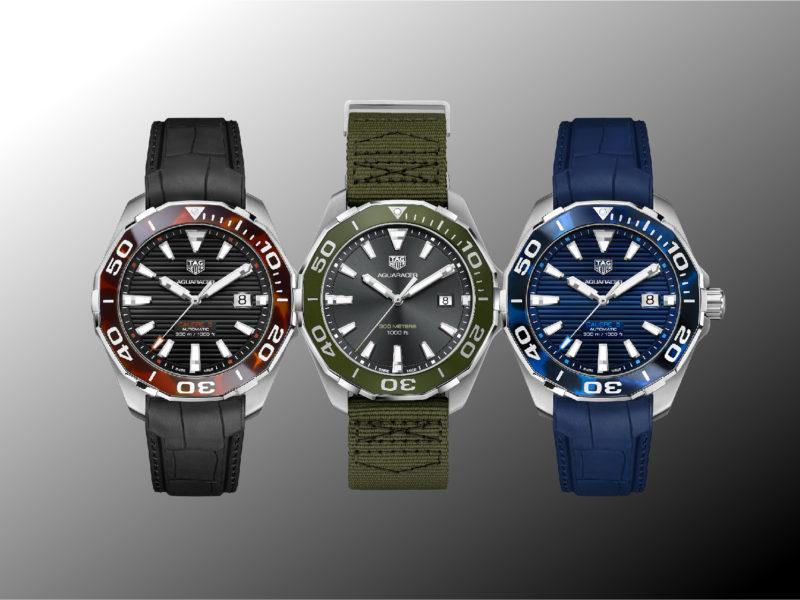 WATCH THIS 海的力量,突破傳統的3只泰格豪雅腕錶