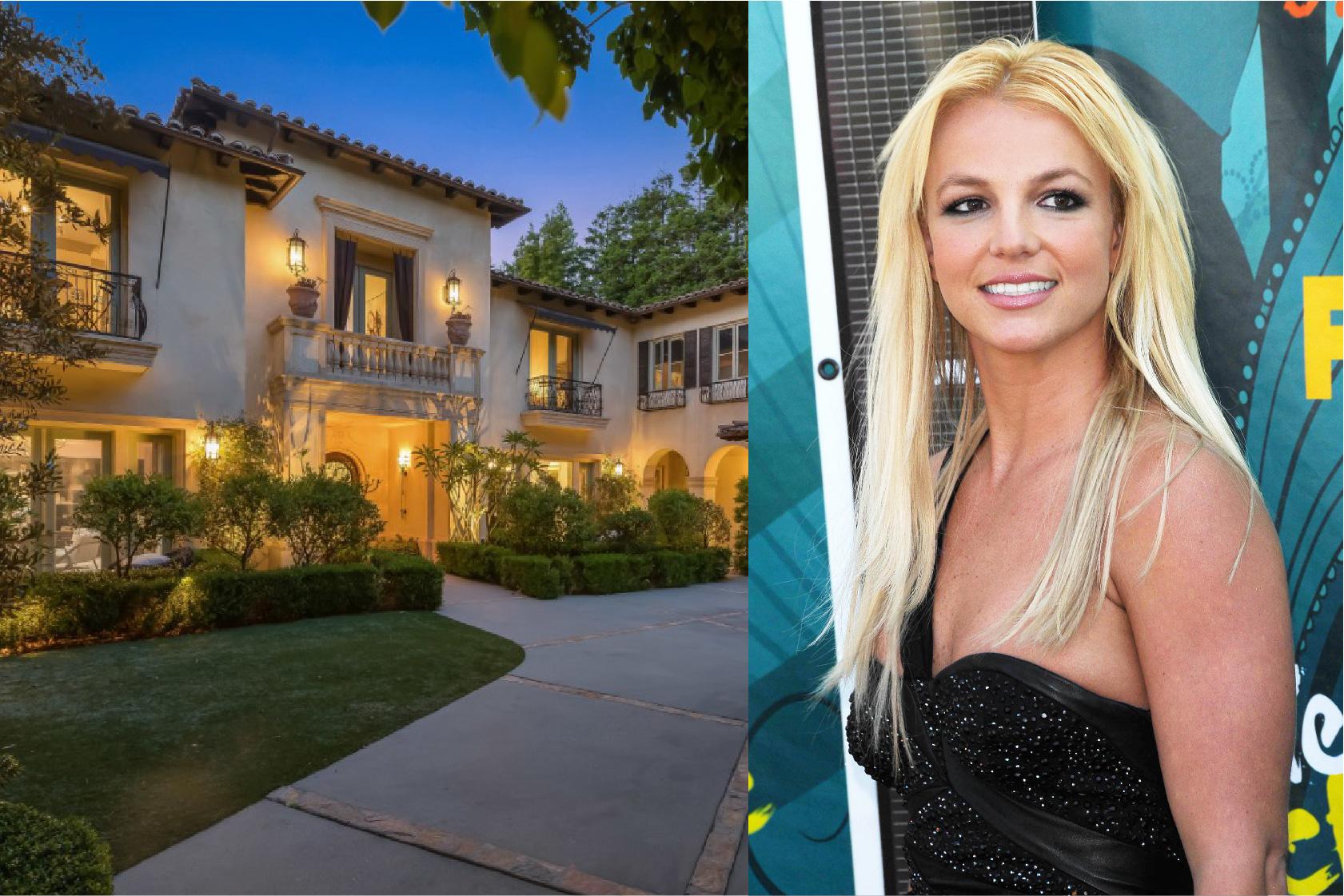 比佛利山莊|流行樂公主布蘭妮的Villa式住宅全揭露
