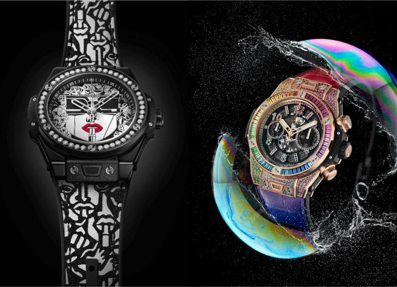 融合的藝術 宇舶錶期間限定店展現兩只全新摩登腕錶