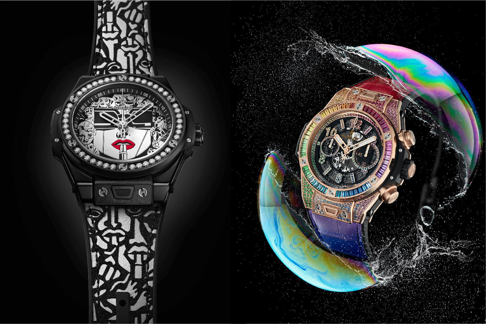 融合的藝術|宇舶錶期間限定店展現兩只全新摩登腕錶
