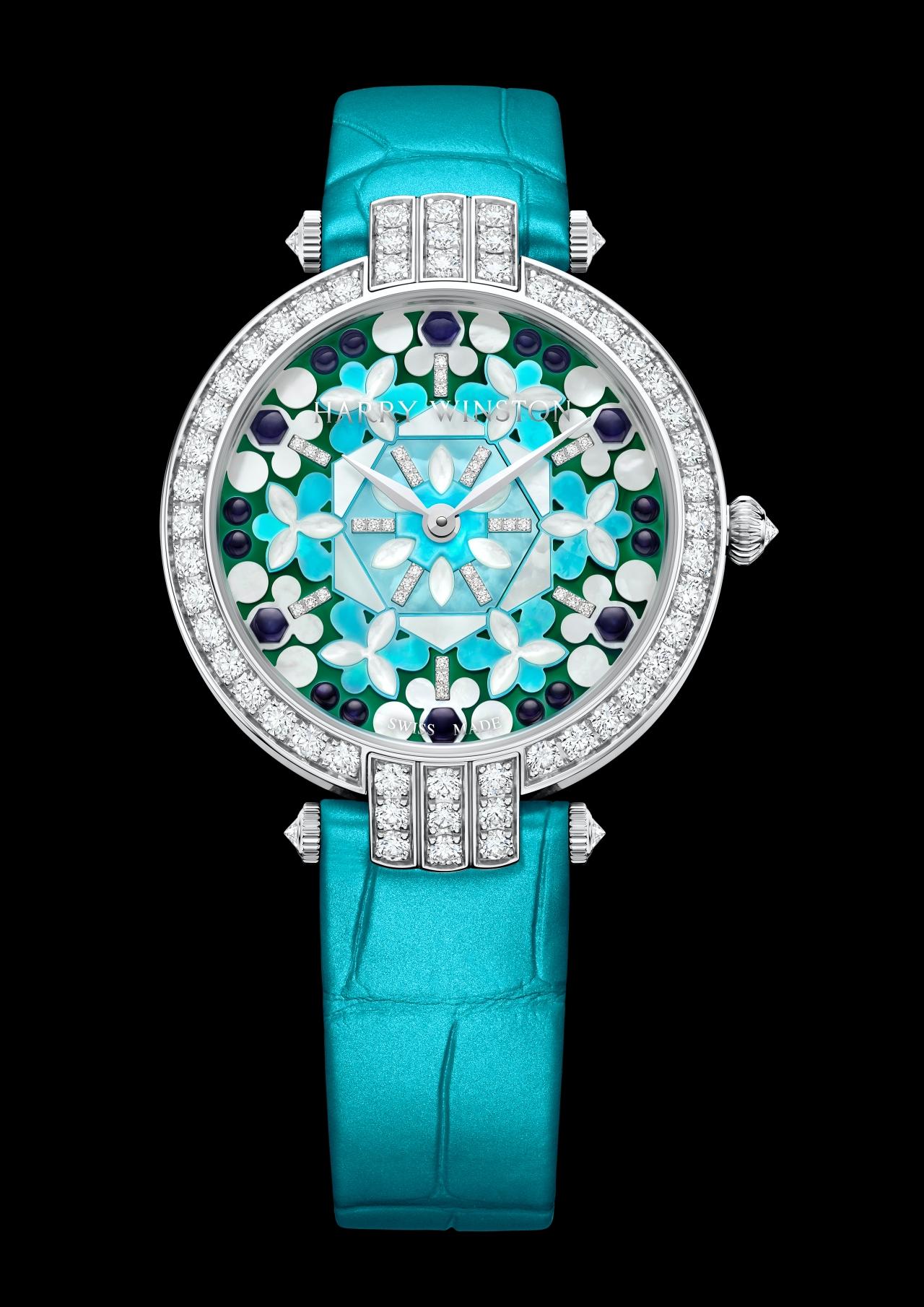 WATCH THIS|四款海瑞溫斯頓的萬花筒腕錶