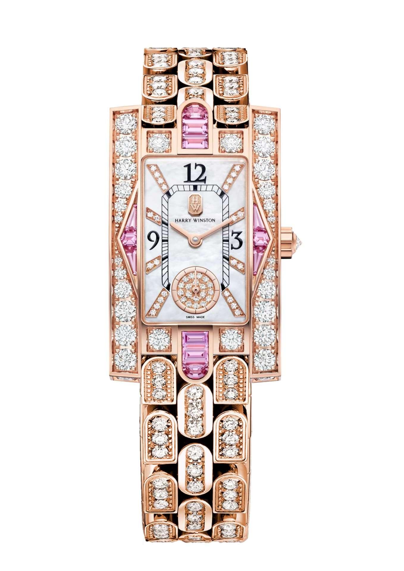 WATCH THIS|10只磅礴抵台的海瑞溫斯頓腕錶