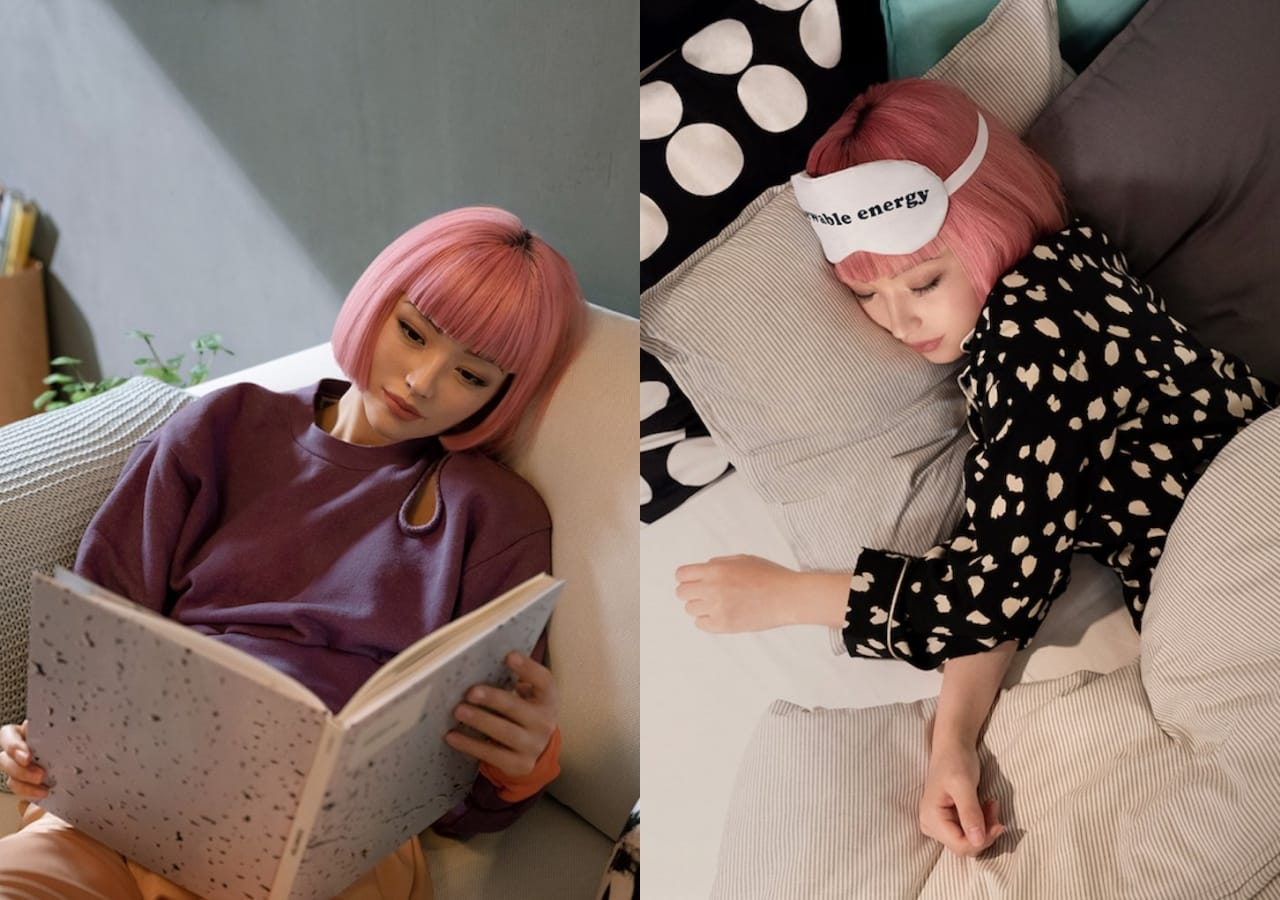 虛實之間|日本IKEA與虛擬網紅imma打造舒適生活空間